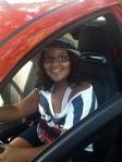 Samsaraxoxo in her Fiat
