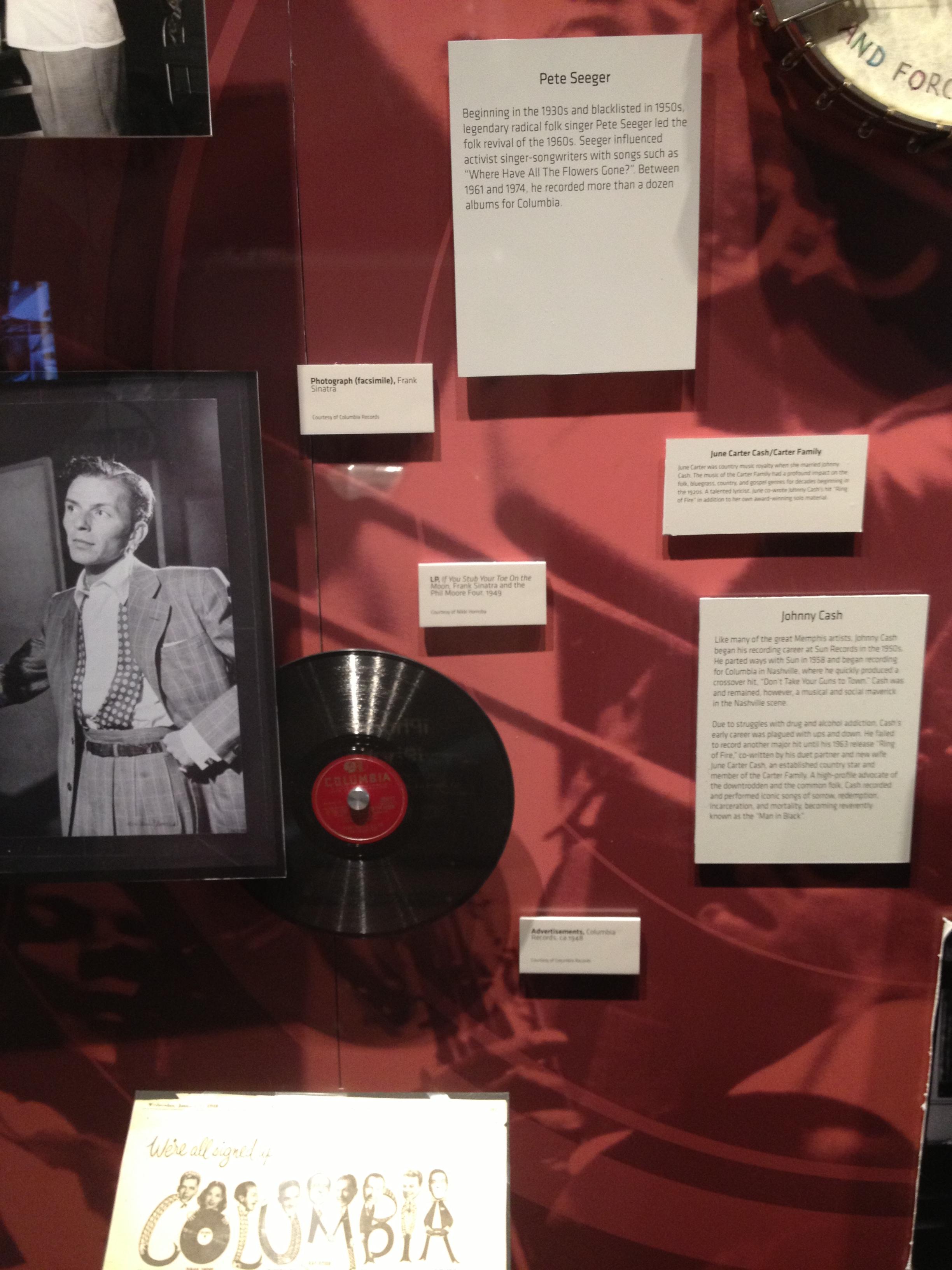 Dan Hornsby Display at Grammy Museum