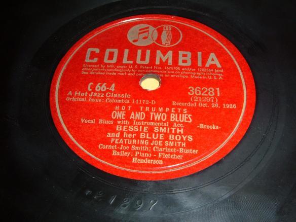 CJP=Dan Hornsby - Bessie Smith records
