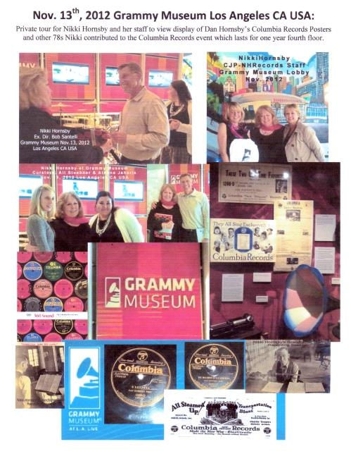 Nikki Hornsby Visit at GRAMMY Museum