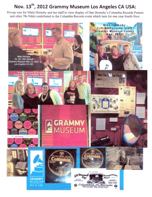 Nikki Hornsby Visit at GRAMMY Museum