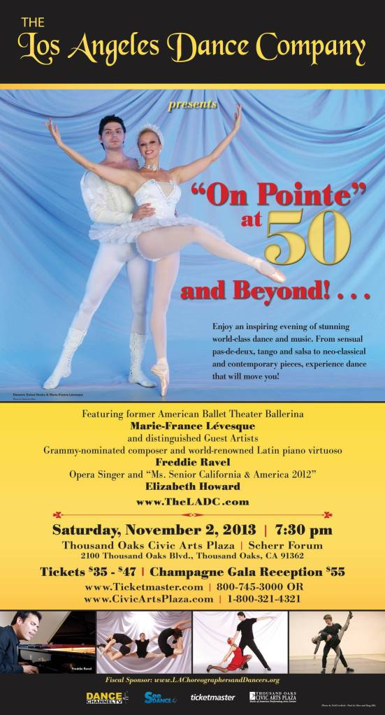 On Pointe @ 50 Poster